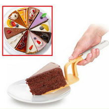 New Style Cake Server With 2 Layer Plate Easy Release Cakes Nonstick Pizza Shove Hot Kitchen Accessories Cake Serving Spatula