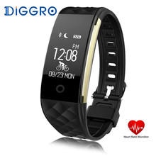 Diggro S2 Smart Bracelet Heart Rate Monitor Smart Band Fitness Tracker Sport Tracker Remote Camera Smart Wristband PK Mi Band 2
