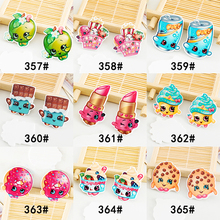 kawaii Cartoon Frute Food Christmas Figurine holiday decoration crafts flat back planar resin DIY phone hair  accessories