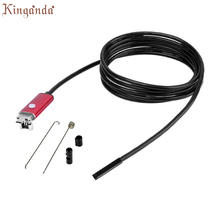 Webcam 2 in 1 Android 10M USB Endoscope Inspection 7mm Camera 6 LED HD IP67 Waterproof Camara Web Drop shipping 17Aug10(China)