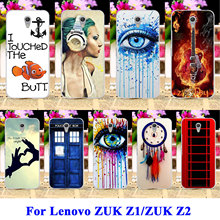 Hard Plastic Mobile Phone Cases Covers For Lenovo ZUK Z1 Z2 Z1221 Housing Cover  Dream Catcher Telephone Booth Letters Shell Bag