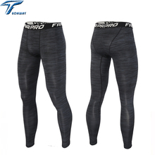 Running tights men compression yoga Basketball tights sports boys fitness leggins pants jogging football training tights running