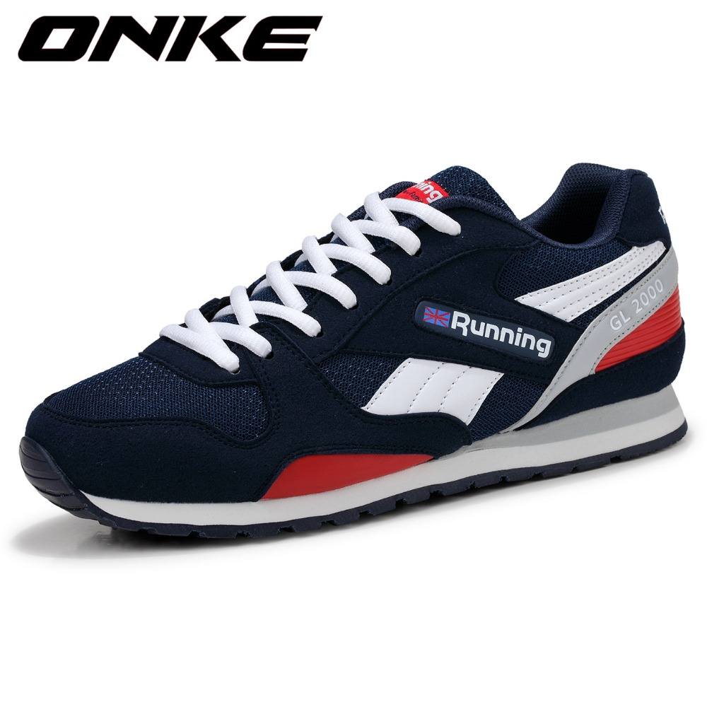 2017 New Trend Running Shoes Mens Sneakers Breathable Air Mesh Shoes Eva Athletic Sapatos Women Sport Shoes Runing Shoe Men<br>