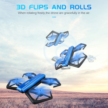 JJRC H43 6-Axis Mini RC Drone App Remote Control 4Ch 720HD Camera Rolling RC Quadcopter Mini Model Airplane Toys For Kids Gifts(China)