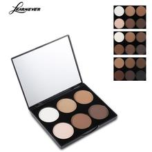 1 High Light Trim Powder 6 Color Light Complexion Concealer Blush Cosmetics Makeup Palette Face Pressed Trimming Powder M04473(China)