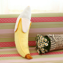 1 Pcs 50cm Plush Toy Cute Peeling Banana Doll Ideas for Kids Playing Props Pillow Stuffed & Plush