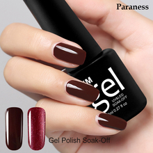 Paraness 29 Colors Nail Gel Major Nail Polish UV Long-lasting Soak-off LED 8ml Cheap Blue Gel Varnish Nail Polish