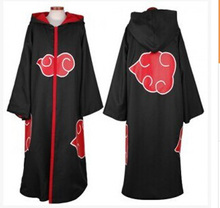 Anime Naruto Akatsuki Cosplay Costume The Eagle Group Team Taka Hawk  Cloak Cape Sasuke Uchiha Hooded Robe