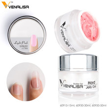 60930# Venalisa 30 ml  Hard Jelly Gel Soak Off UV LED Camouflage Gel Builder Gel Nail Art Gel Polish