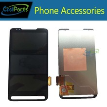 1PCS/Lot Black Color High Quality For HTC HD2 T8585 T8588 LCD Display and Touch Screen Digitizer Free Shipping