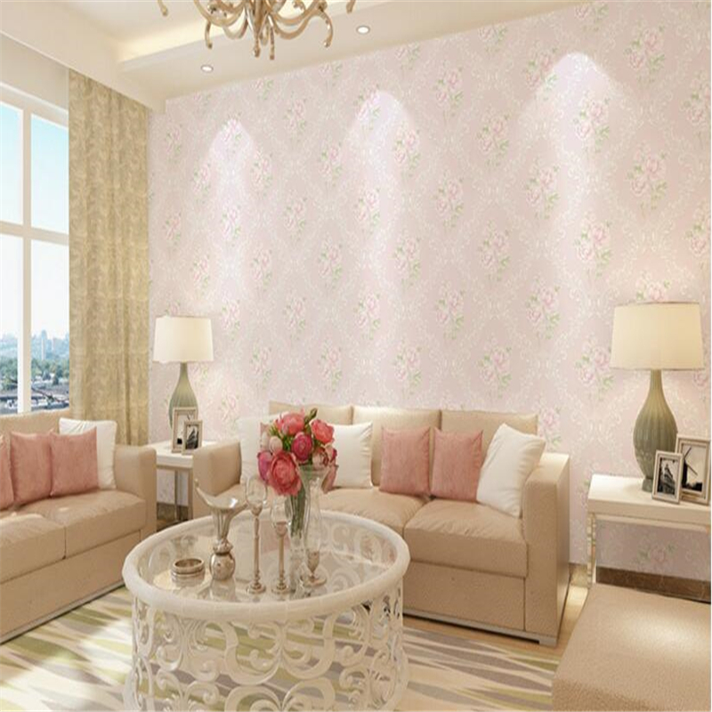 beibehang fashion dandelion wallpaper wallpaper living room non woven wall paper papel de parede para quarto  wall papers home<br>