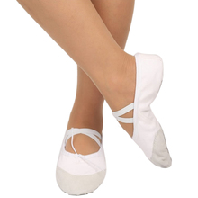 2018 Dancing Shoes Children Shoes Baby Kids Professional Flat Shoes Soft Dance Ballets Flats Cute Kids Ballet Flats Shoes(China)