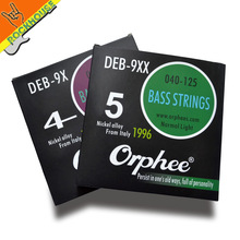 Orphee High-up electric Bass strings normal light bass string Phosphor copper nickel alloy vacuumize packing free shipping