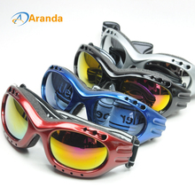 snow ski goggles 4 colors sunglasses windproof cool goggle antiparras motocross lunette de ski homme gafas snowboard gafas(China)