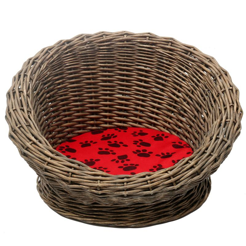 wicker cat bed-your cat will love it WICKER CAT BED-WICKER CAT BASKET-YOUR CAT WILL LOVE IT HTB1yJu