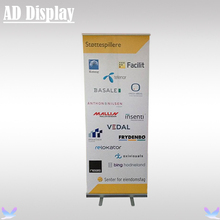 80*200cm Wholesale 10PCS Full Aluminum 2.2kg Roll Up Banner Stand For Sales Promotion,Marketing Leading Pull Up Display Stand(China)