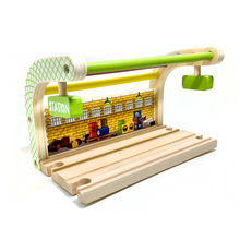 p102 free shipping Multicolored Double track station compatible with Thomas train track children's puzzle track game scene(China)