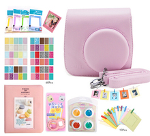 Fujifilm Instax Mini 8 Accessories Camera Case Bag Colored Filters Photo Album Wall Hang Frames Selfie Lens Film Frames Stickers(China)