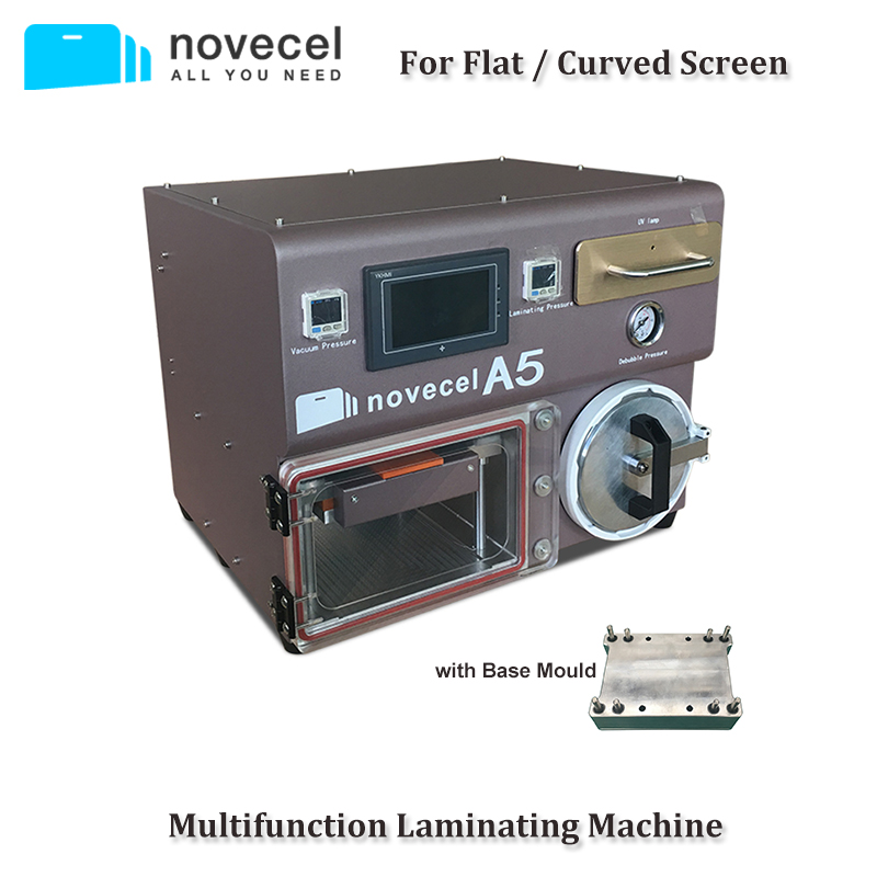 Novecel A5 Lminating Machine Only Bubble Remover All in One Vacuum Laminator LCD Repair Machine with UV Lamp