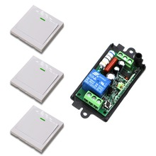 Latest 110V 220V 1CH Remote Switch Receiver Wall Transmitter Wireless Power Switch 315MHZ 433MHZ Radio Controlled Switch Relay