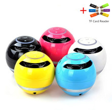 1PCS Bluetooth Mini Speaker Receiver Boombox FM Radio Portable Amplifier MP3 Subwoofer With Mic Loudspeaker