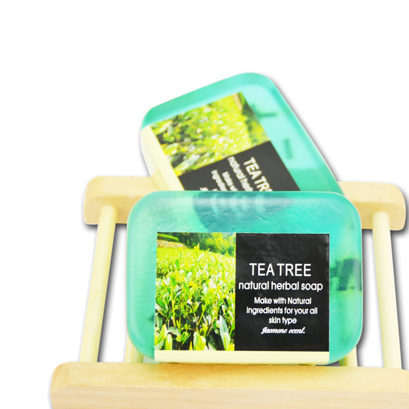 90g Thai sweet-scented osmanthus hand soap, anti-inflammatory calm, clean pores, whitening water, improve skin color(tea tree)(China (Mainland))