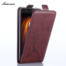 Leather Case For For Nokia 532 Flip Printing Cover For Microsoft Nokia 532 Lumia 532 Embossing Leather Mobile Phone Bags & Cases(China)