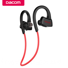 Dacom P10 MP3 Player phone headset stereo sport wireless bluetooth earphones headphone with memory Apt-x IPX7 waterproof running(China)