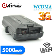 Wifi 3G GPS Tracker fot car Powerful Magnet FREE Tracking Software Platform APP 5000mAh Rechargeable Battery TK05G(China)