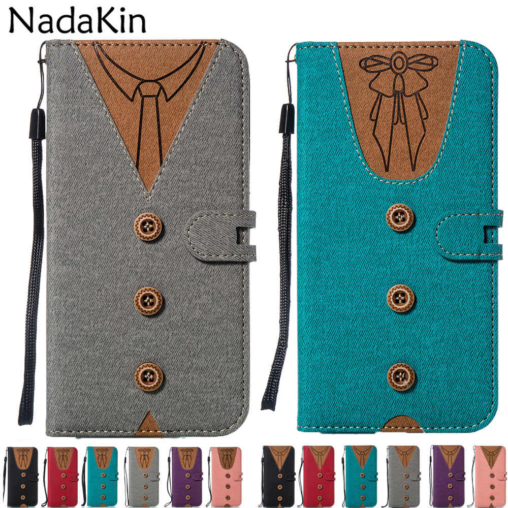 Stylish Flip Book Phone Case for Xiaomi Mi 8 A1 A2 Lite Pocophone F1 Redmi 5A 6 Pro Note 5 4 4X With Card Money Pockets