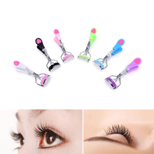 JETTING Professional False Eye Lashes Curling Clip Makeup Tool Kit Cute Heart Stainless Steel Eyelashes Curler Beauty Tools(China)