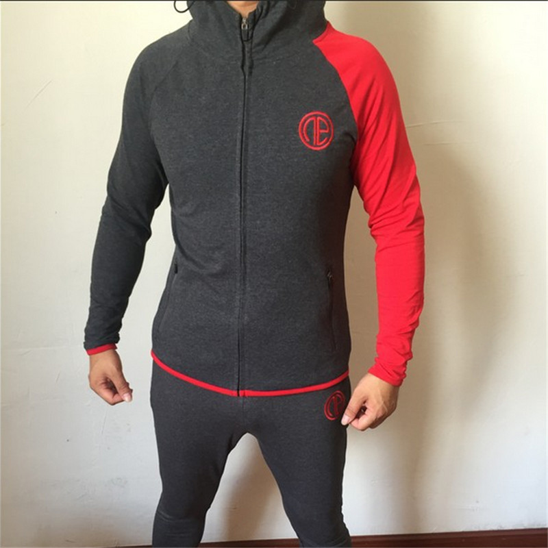 2018 Fashion New Men Hoodies and Sweatshirts brand clothing Top quality casual Male Hooded Sweatshirt