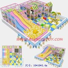 2014 Big Indoor Naughty Castle/Shopping Mall Kids Play Center Three Level/Nontoxic Playground Equipment for Indoor(China)