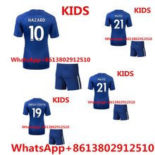 NEW Hihg Quality Maillots de football chelseas kids football kits jerseys kids soccer jerseys 2017 2018(China)