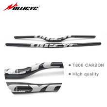 Buy Ullicyc New full carbon fiber handlebar 3K bicycle MTB handlebar flat/rise Blue bike parts 31.8*600/620/640/660/680/700/720mm for $16.12 in AliExpress store