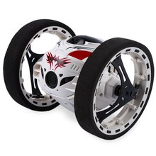 Mini RC Car Bounce Car PEG SJ88 r 4CH 2.4GHz Strong Jumping Sumo Toy Cars with Flexible Wheels Remote Control Robot Driving Cars(China)