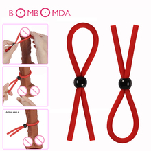 Buy Adjustable Male Penis Extender Cock Ring Delay Ejaculation Erection Lasting Penis Ring Adult Product Sex Toy Men Masturbator