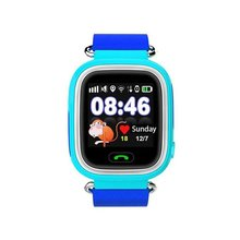 Kids GPS Smart Watch GPS Bracelet Tracker Support SOS Call GPS Locator Voice Chat Remote Monitor Pedometer Anti-lost Montinor(China)
