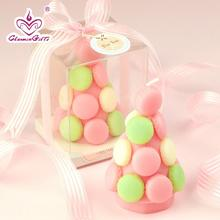 Macaron Tower Candle baby shower baptism party favor children birthday gift present novelty