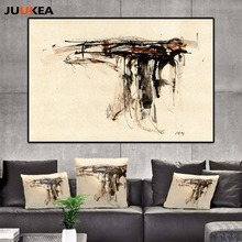 Fashion Vintage Hipster Style Graffiti Sketch Gun Canvas Art Print Painting Poster, Wall Picture For Living Room, Home Decor