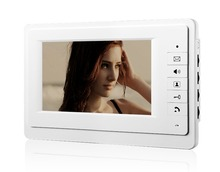 7 Inch Color TFT LCD Screen Monitor Wired Doorbell Door Video Phone Intercom for House Office Apartment