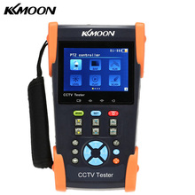 "KKmoon HVT-2601 3.5"" TFT-LCD CCTV Camera POE Tester PTZ Controller Zoom Support RS232/RS485 Video Signal / Cable Test IP Scan"