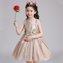 High End Cute Piano Costume Girls  Dress Newest Design Girl Flower Kids Dresses For Girls Dresses Children Evening Party  P97