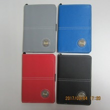 Unique leather golf scorecard holder new design golf score card yard book cover with magnet for ball marker