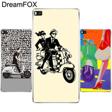 L359 Vespa Scooter Soft TPU Silicone Case Cover For Huawei P8 P9 P10 Lite Plus 2017 Honor 8 Lite Pro 9 5C 6X(China)