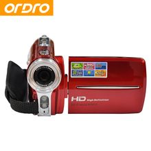 ORDRO HD 720P Reflex Digital Photo Cameras 16X Zoom 20MP Video Recorder Mini High Quality Camcorders with Face Recognition