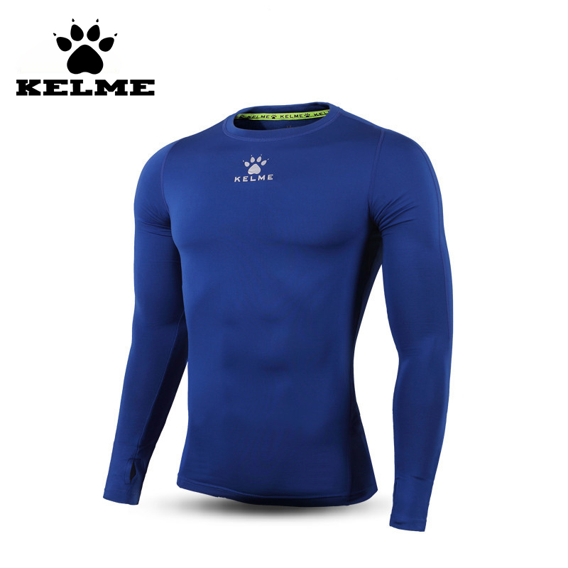 KELME 2016 New Top Quality Soccer Jerseys Training Tight Running Survetement Football Homme Long Sleeve Elasticity Quick Dry 06(China (Mainland))
