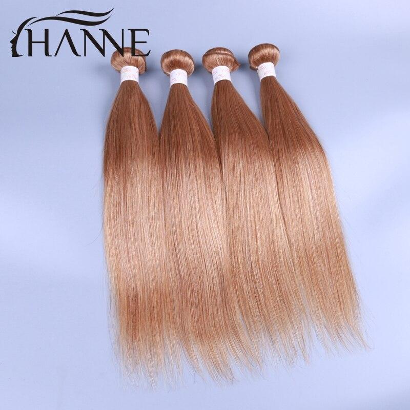 6A brazilian virgin straight hair honey blonde 27# 4pcs/lot 12-26inch unprocessed brazilian virgin hair straight weave bundles<br><br>Aliexpress