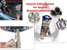 1 bottle bicycle teflon grease Premium lube for cycling bearing hubs bike Synthetic Teflon lube oil Tube Bearing Lubricat tool