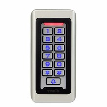TIVDIO Rfid Door Access Control System Waterproof Metal Keypad 125KHz Proximity Card Standalone Access Control With 2000 Users(China)